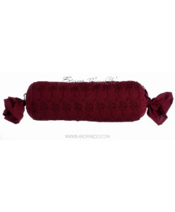 Cuscino caramella 45 x 18 cm Burgundy