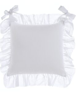 Cuscino sedia Blanc Mariclo con galette Fru Fru Collection 45x45 cm