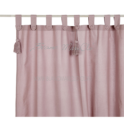 Tenda-150×300-cm-+-loops-e-embrasse-Rose-Powder