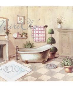 Quadro-bagno-con-lavandino-e-vasca-cm-50x50x3
