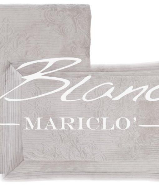 Boutis velluto grigio Blanc Mariclo A2561799GR