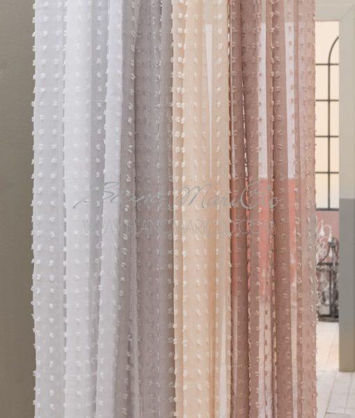 Tenda 150 x 290 cm Naturale Puffolina Collection - Blanc MariClo ...