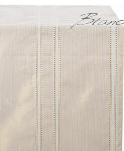 Runner righe gold Lurex Collection 45x140 cm