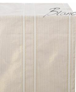 Runner righe gold Lurex Collection 45x140 cm