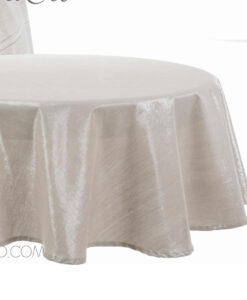 Tovaglia tonda silver Lurex Collection 150 cm
