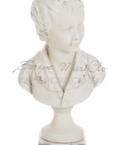 Busto fanciullo Gipsoteca Collection Blanc Mariclò