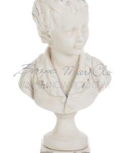 Busto fanciullo Gipsoteca Collection Blanc Mariclò