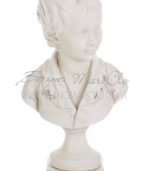 Busto fanciullo Gipsoteca Collection Blanc Mariclò A22738