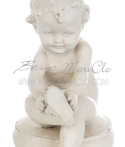 Decoro bimbo Blanc Mariclo Collection A22739