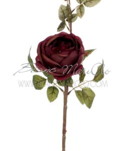 Fiore rosa malva