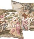 Cuscino Blanc Mariclò Damigelle Gobelin Collection