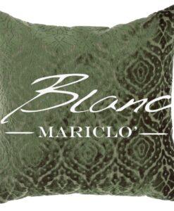 Cuscino velluto Blanc Mariclo Albert Collection verde