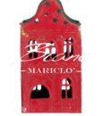 Porta candela ferro Rigoletto Collection Blanc Mariclo