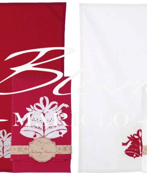 Canovaccio Christmas Collection  50 x 70 cm Blanc Mariclo