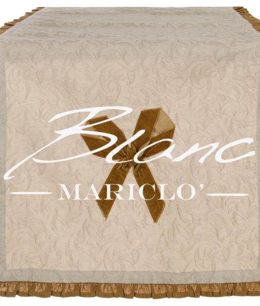 Runner Ambra Collection Blanc Mariclo