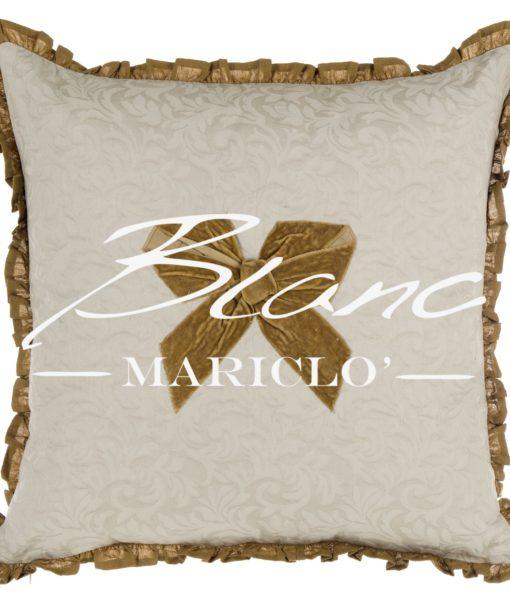 Cuscino Ambra Collection Blanc Mariclo