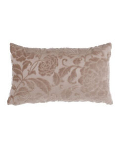 Cuscino velluto Blanc Mariclo Jacobean Collection Rosa Antico 30x50 cm