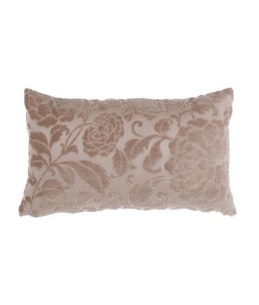 Cuscino velluto Blanc Mariclo Jacobean Collection Rosa Antico 30×50 cm