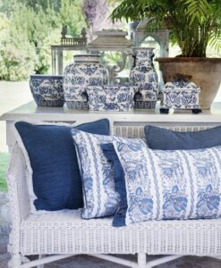 Vaso Blanc Mariclo Chinoiserie collection