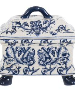 Vaso Blanc Mariclo Chinoiserie collection blu