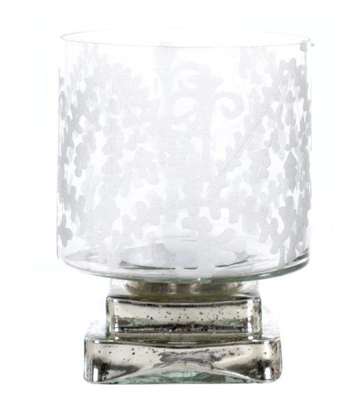 Vaso Porta candela Capriccio Blanc Mariclò L 15 x P 15 x H 19