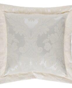 Cuscino Blanc Mariclo Floreal Damasco Collection Naturale 40x40 cm
