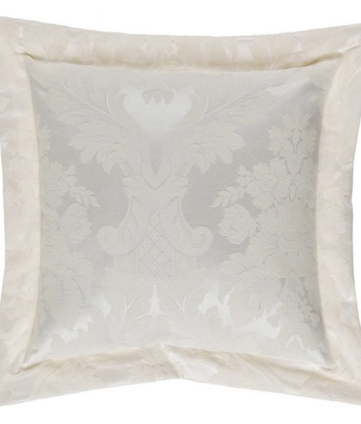 Cuscino Blanc Mariclo Floreal Damasco Collection Naturale 40×40 cm A26313