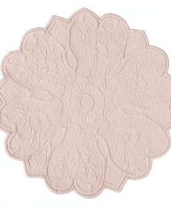 Set americano tondo Blanc Mariclo Floreal Collection
