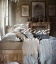 Copriletto Blanc Mariclo Damasco Collection Azzurro 260×260 cm