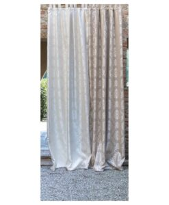 Tenda Blanc Mariclo Classique Collection Panna 150x290+10 cm