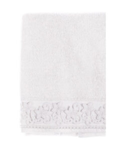 Coppia spugna Blanc Mariclo Blooming Collection 400 gsm Bianca