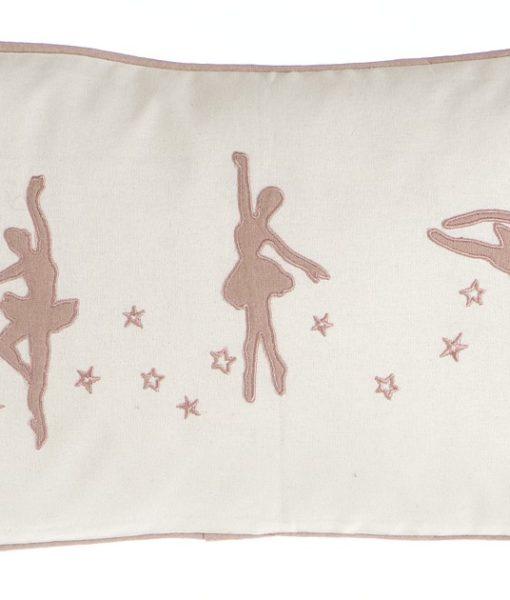 Cuscino Blanc Mariclo ricamo ballerine Romantic Ballet 30x50A28004