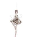 Decoro Velvet Ballerina Romantic Ballet Blanc Mariclo Colore Beige