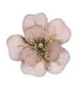 Decoro floreale con clip Velvet Ballerina Romantic Ballet Blanc Mariclo Rosa