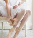 fiore velvet ballerina