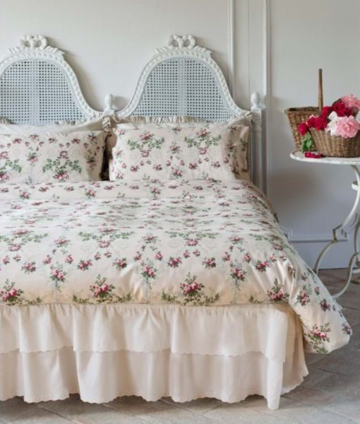 Copripiumino Antique Rose Blanc Mariclo