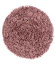 Cuscino tondo con ruches rosa polvere Blanc Mariclo Deco Rose