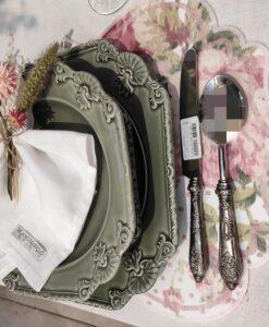 Tovaglietta floreale Blanc Mariclo