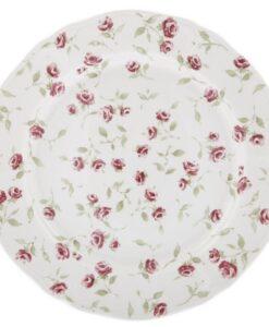 Vassoio tondo blanc mariclo Floret