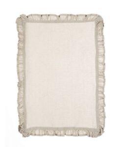 Tovaglietta Blanc Mariclo Elegance Ruffle A2363999NT