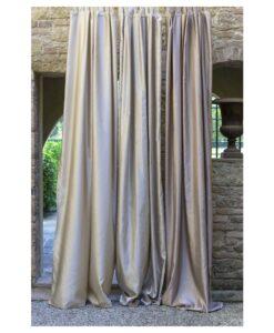 Tenda Blanc Mariclo Satin 150x290 cm Colore Beige