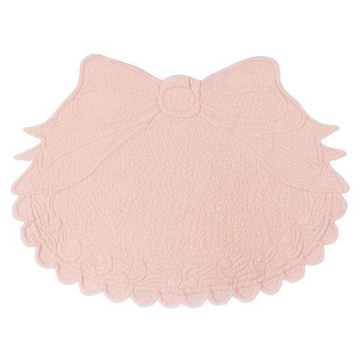 Set americano ovale con fiocco Blanc Mariclo A2851399RO