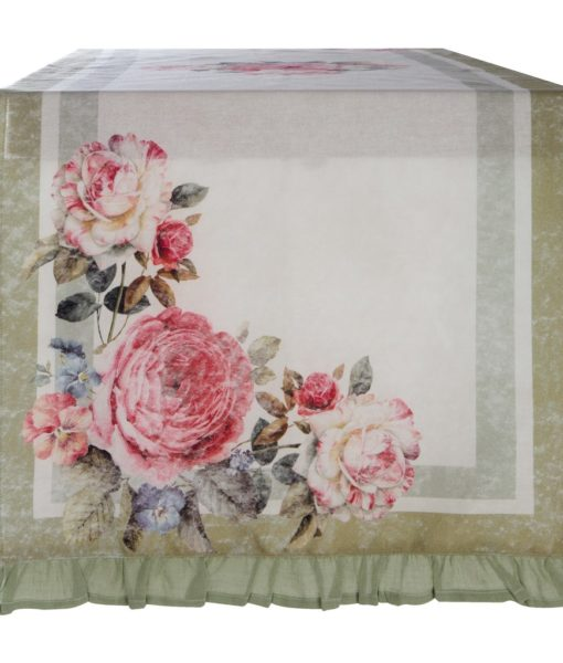 Runner Blanc Mariclo Vintage Floral Collection A28731
