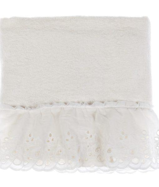 Accessori Bagno Blanc Mariclo.Telo Bagno Con Gala Blanc Mariclo Cipria Collection Panna Blanc Mariclo Reggio Emilia