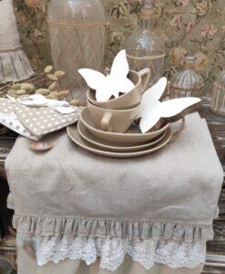 Decoro Farfalla Blanc Mariclo Easter Fantasy