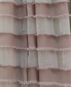 Tenda a righe Blanc Mariclo Positano colore Rosa