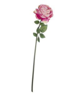 Rosa artificiale Blanc Mariclo colore Rosa A2190699RO