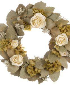 Ghirlanda fiori essiccati Blanc Mariclo L'elisir d'amore