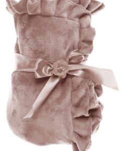 Plaid Blanc Mariclo Romantic Frill Rosa polvere