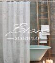Tenda doccia in vinile Blanc Mariclo 178 x 182 cm Vinyl Collection